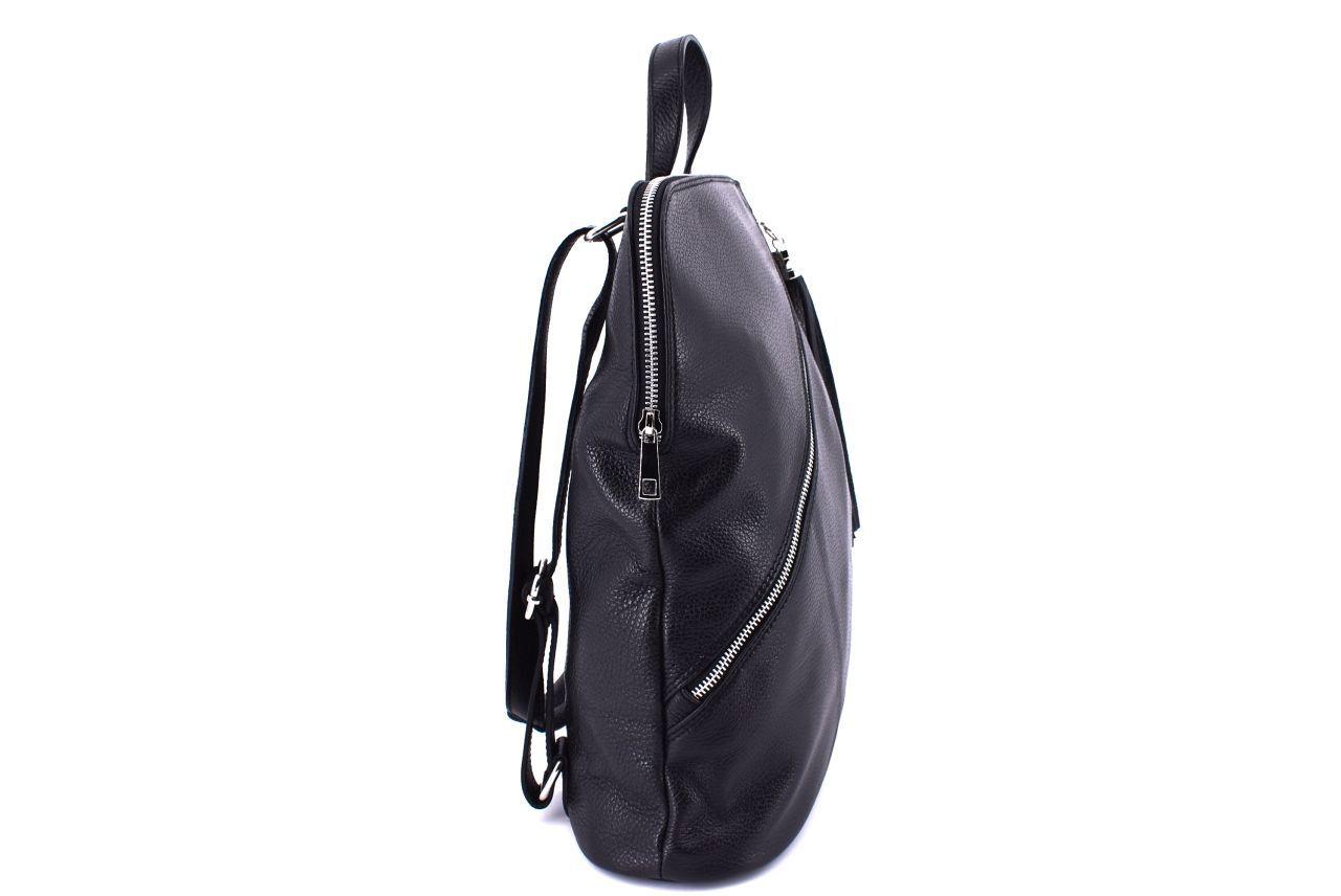 Dámský kožený batoh a kabelka v jednom /Arteddy - červená 36932