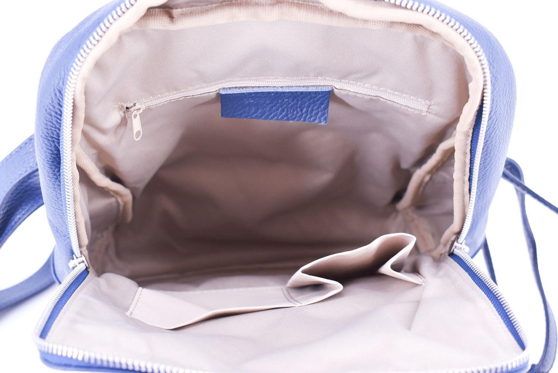 Dámský kožený batoh Arteddy - krémová 36931