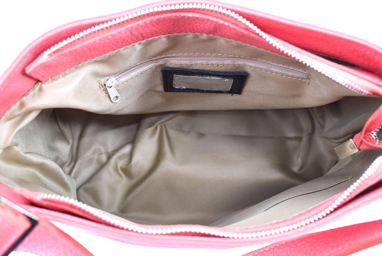 Dámská kožená kabelka crossbody Arteddy - růžová 36911