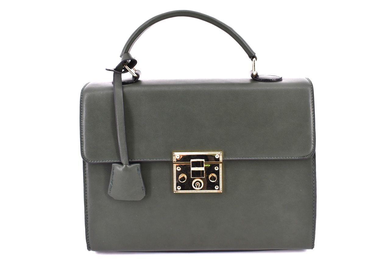 Dámská kabelka zelená 35688