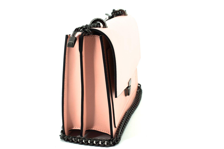Dámská kožená kabelka / psaníčko Arteddy - černá 36893