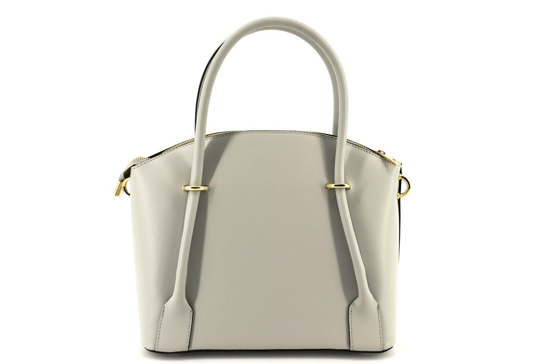 Dámská kožená kabelka Arteddy - šedá 36954