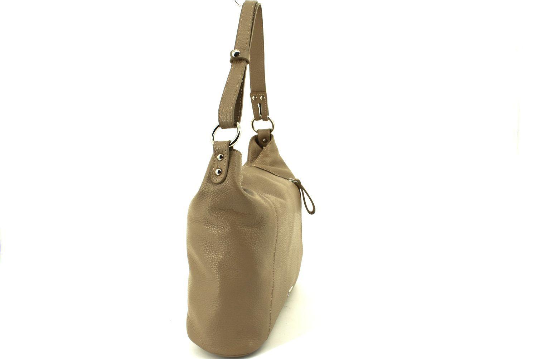 Dámská kožená kabelka / crossbody Juice - červená 36984