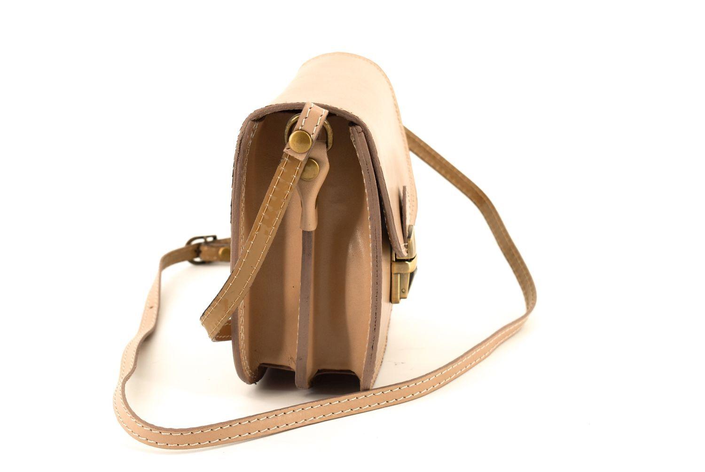 Dámská kožená kabelka crossbody Arteddy - černá 36939