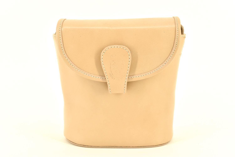 Dámská kožená kabelka crossbody Arteddy - béžová