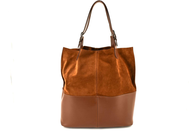 Dámská kožená kabelka Arteddy - hnědá 28896