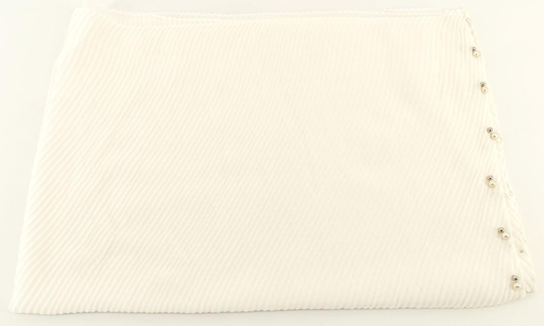 Dámský šátek s perličkami Arteddy - bílá
