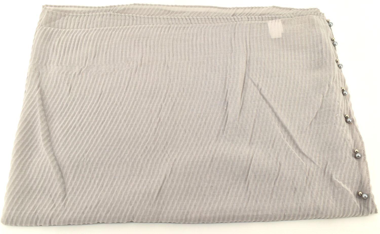 Dámský šátek s perličkami Arteddy - šedá