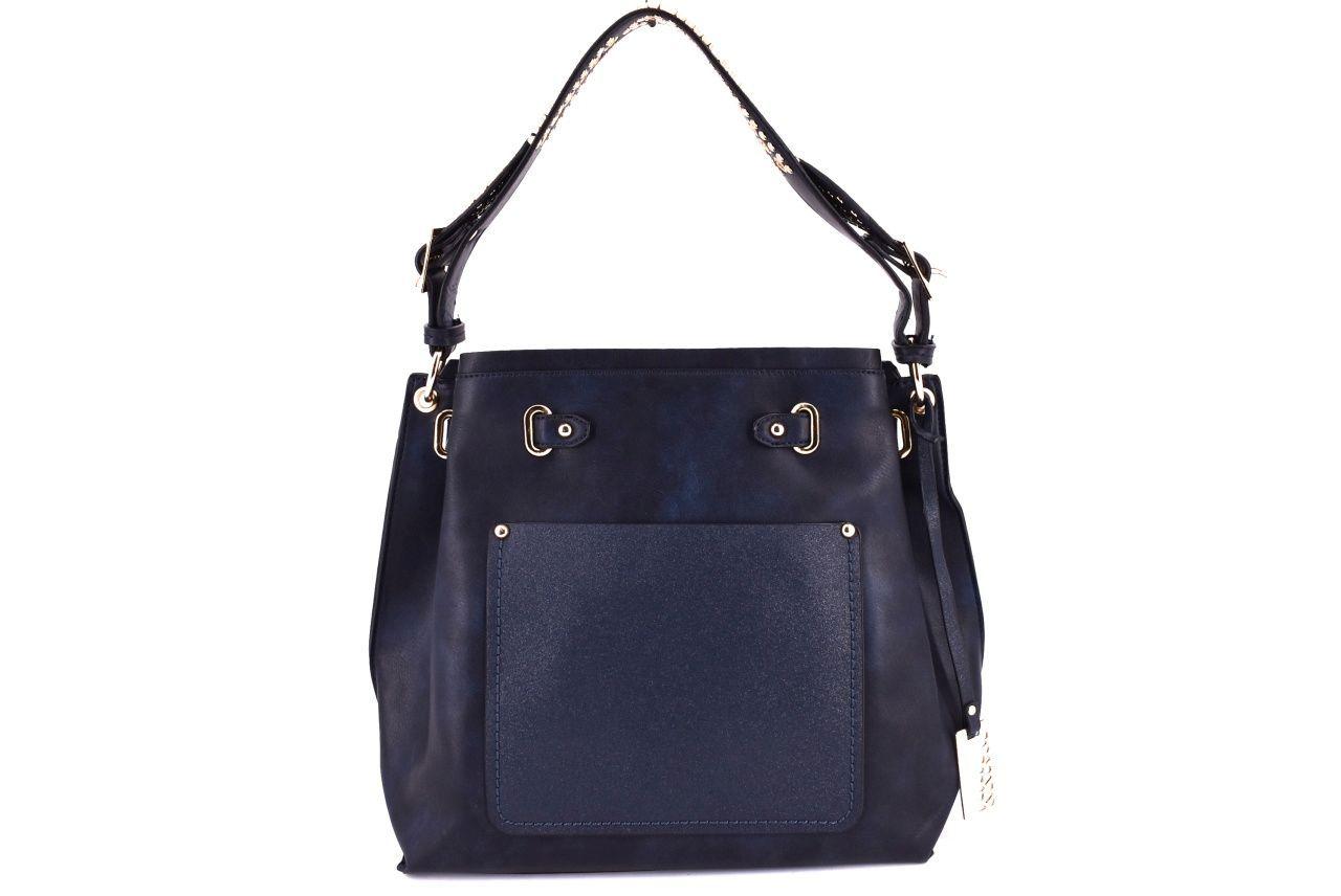 Dámská kabelka modrá 35747