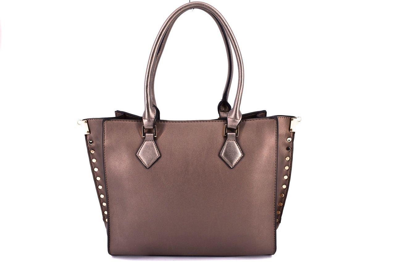 Dámská kabelka bronzová 35696