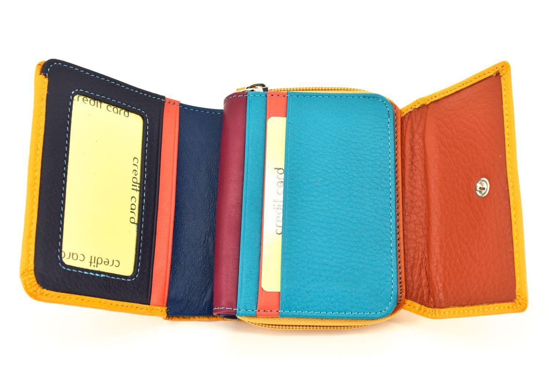 Dámská kožená peněženka Arteddy - rezavá 36515
