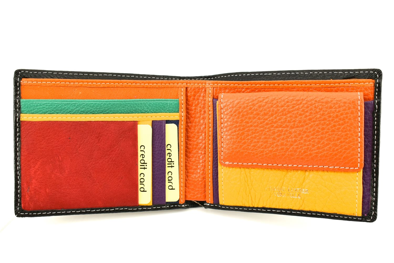 Pánská kožená peněženka Arteddy - tmavě modrá 36511