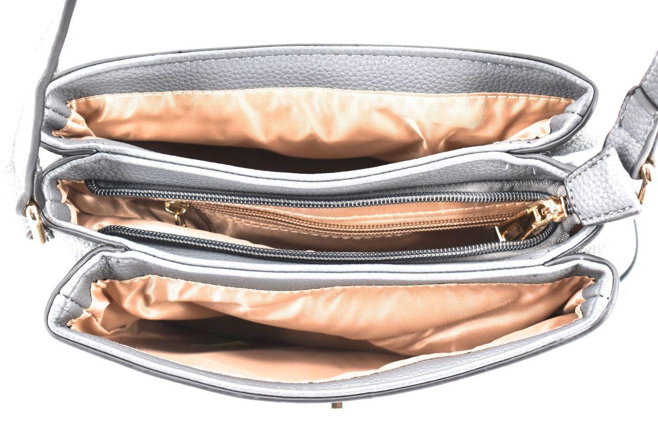 Dámská kabelka crossbody - růžová 35705