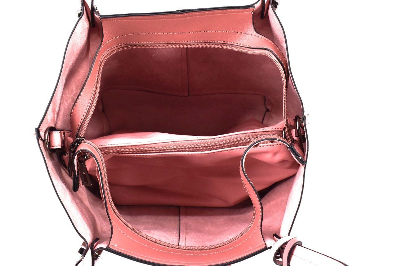 Dámská kabelka růžová 35012