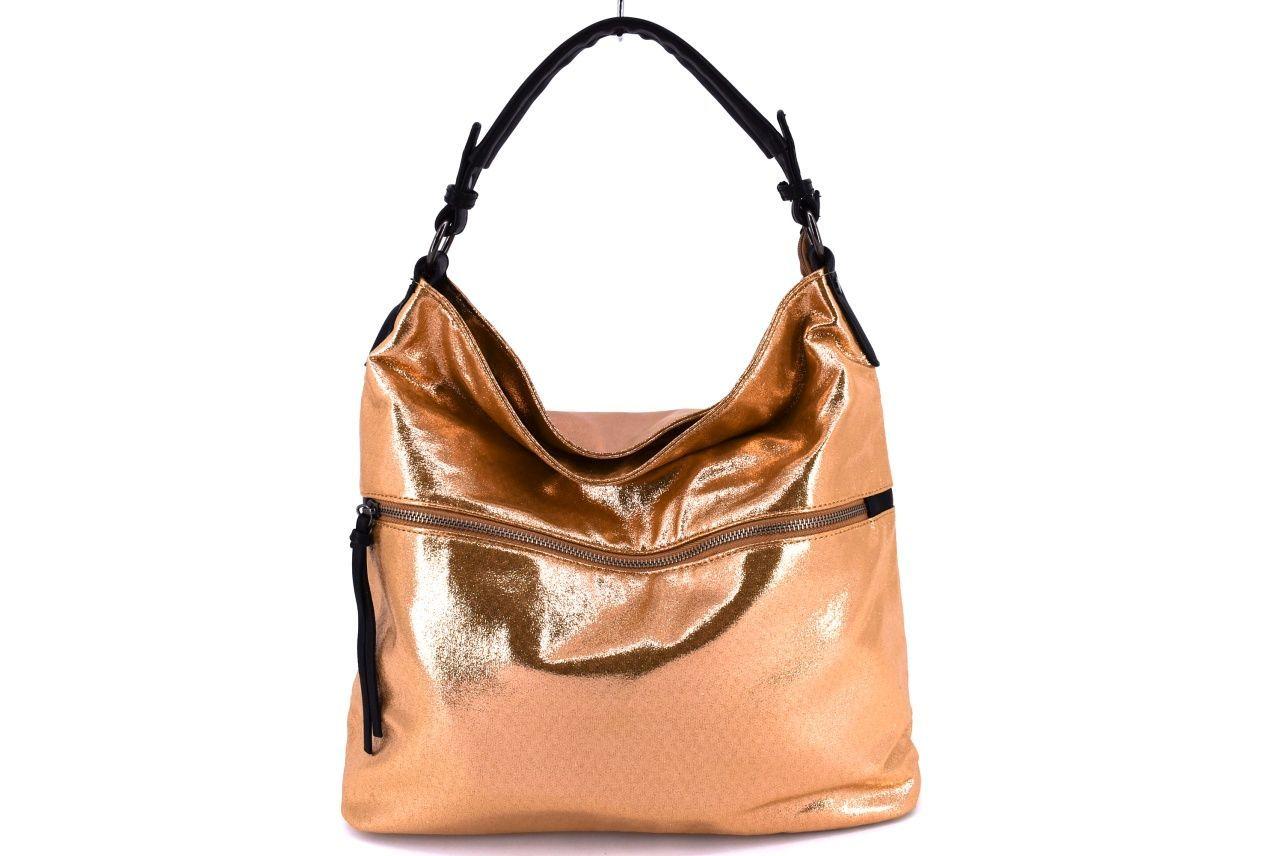 Dámská kabelka zlatá 35077