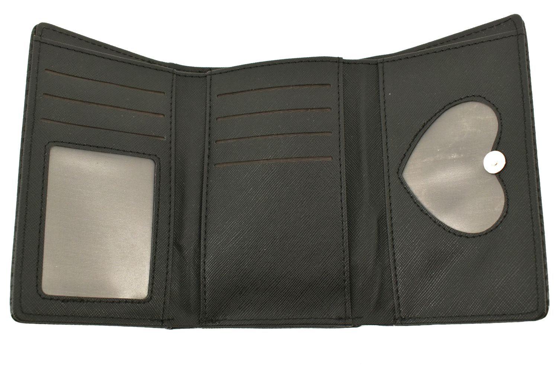 Dámská peněženka z ekokůže - černá 37026