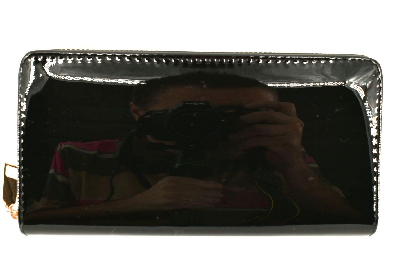 Dámská / dívčí peněženka pouzdrového typu lakovaná - černá 36407