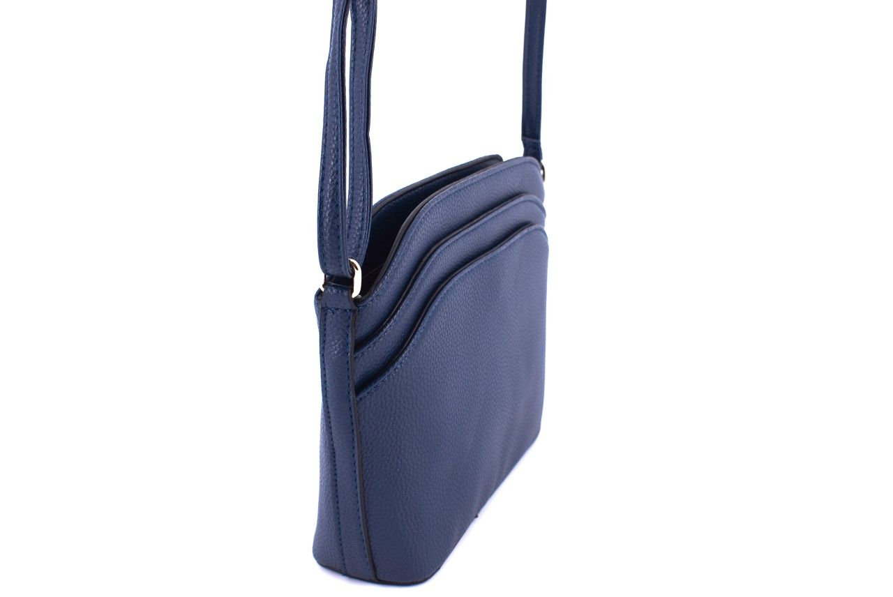 Dámská kabelka crossbody - modrá 35702