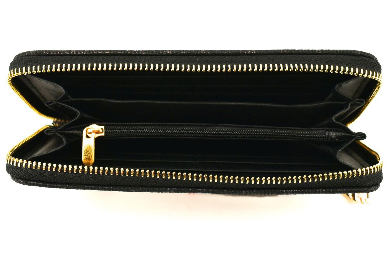 Dámská / dívčí peněženka pouzdrového typu - černá 36348