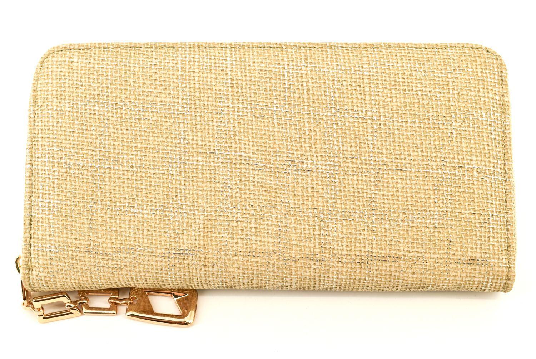Dámská / dívčí peněženka pouzdrového typu - krémová 36348