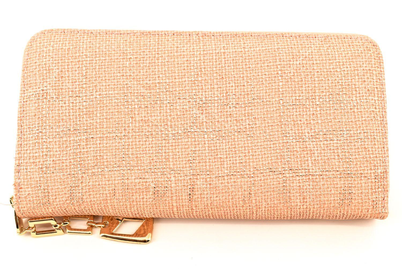 Dámská / dívčí peněženka pouzdrového typu - lososová 36348