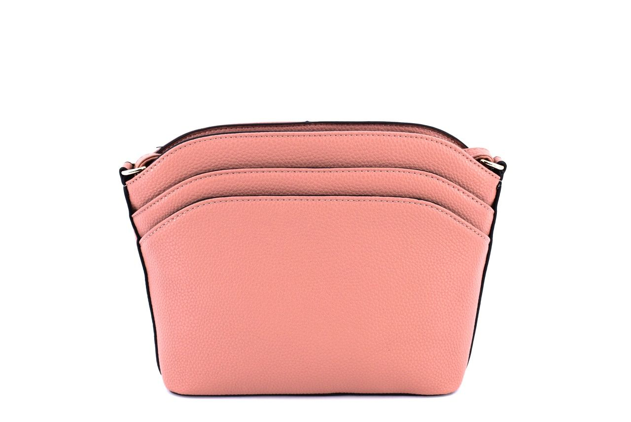 Dámská kabelka crossbody - růžová 35702