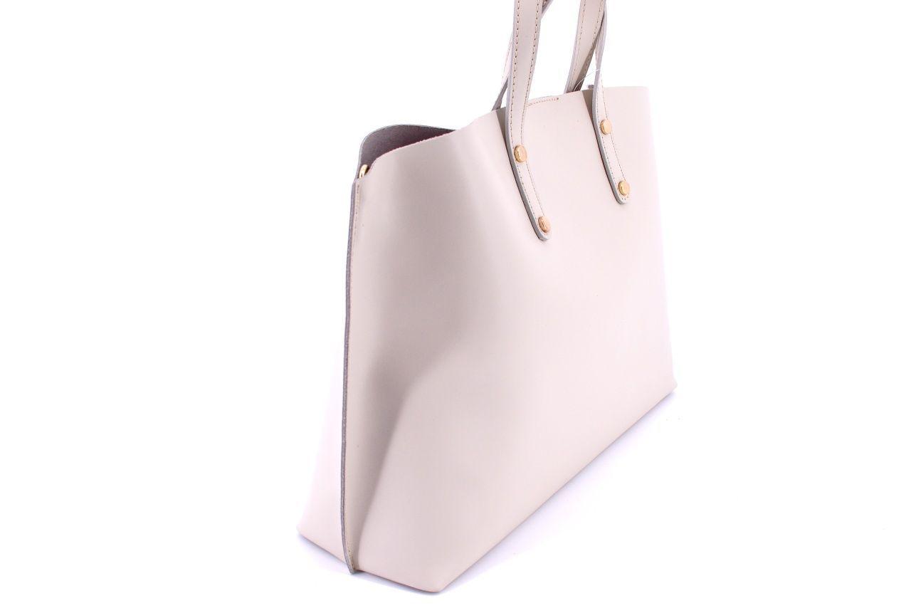 Dámská kožená kabelka Arteddy - šedá 32479