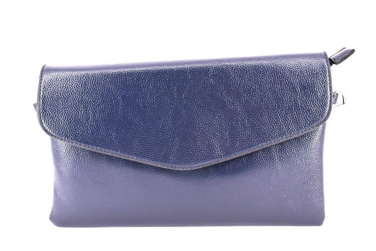 Dámská kabelka psaníčko -tmavě modrá 35068