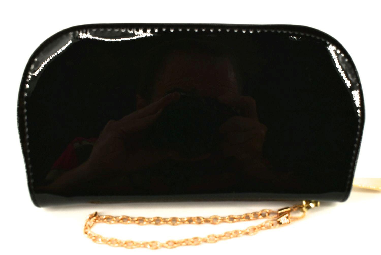 Dámská / dívčí peněženka pouzdrového typu lakovaná - černá 31066
