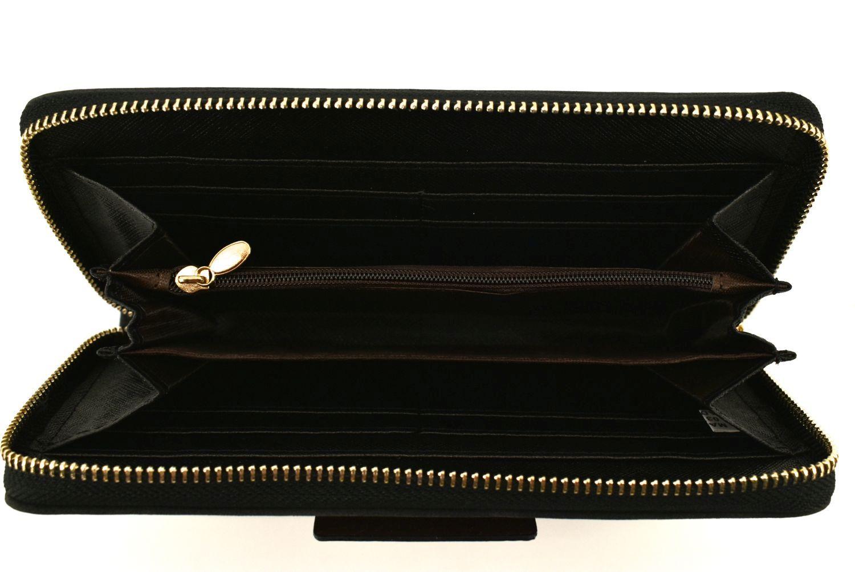 Dámská / dívčí peněženka pouzdrového typu - černá 31510