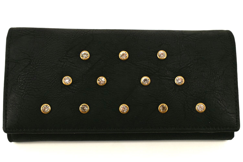 Dámská / dívčí peněženka z ekokůže - černá 27484
