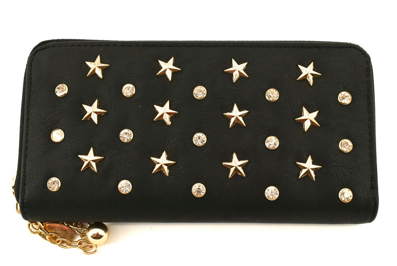 Dámská / dívčí peněženka pouzdrového typu - černá 27420