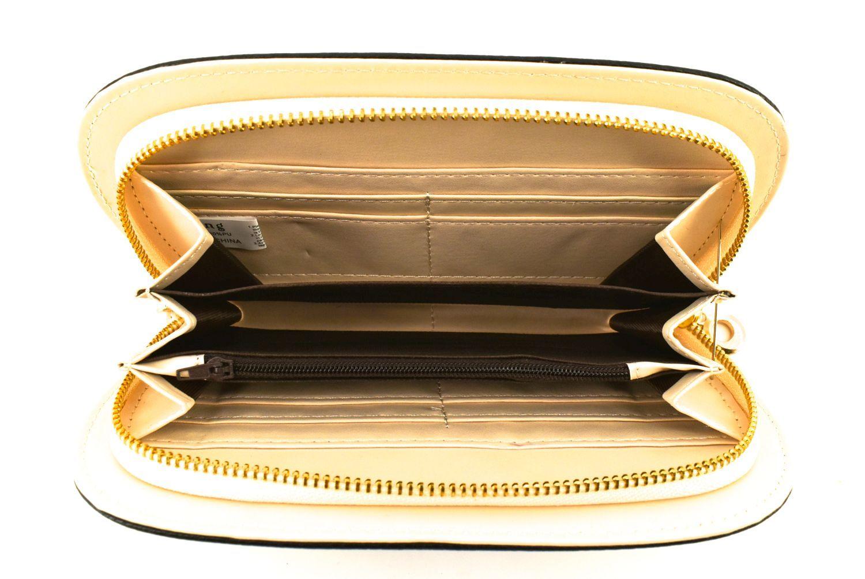 Dámská / dívčí peněženka  pouzdrového typu - krémová