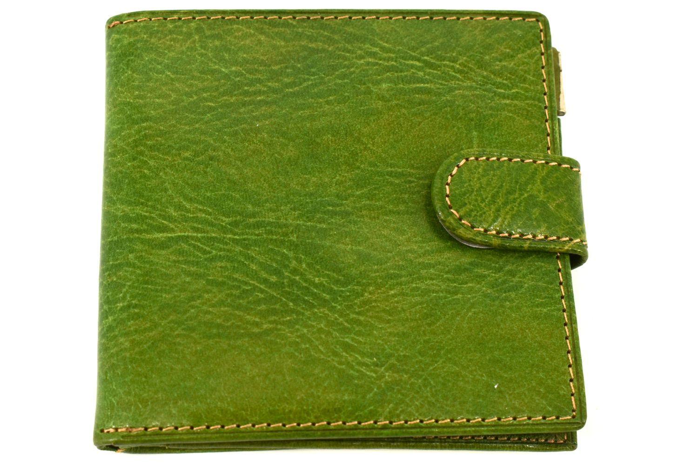 Pánská kožená peněženka Arteddy -zelená 11336