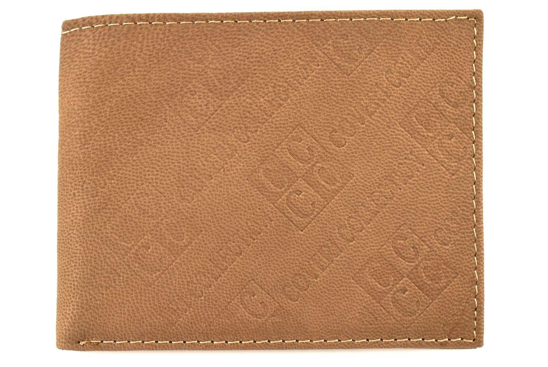 Pánská kožená peněženka Coveri Collection - béžová 31749