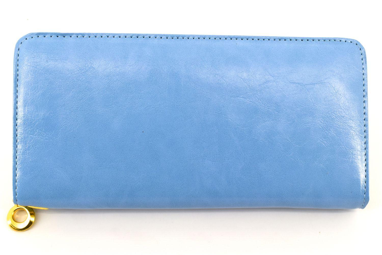 Dámská / dívčí peněženka pouzdrového typu - modrá 27506