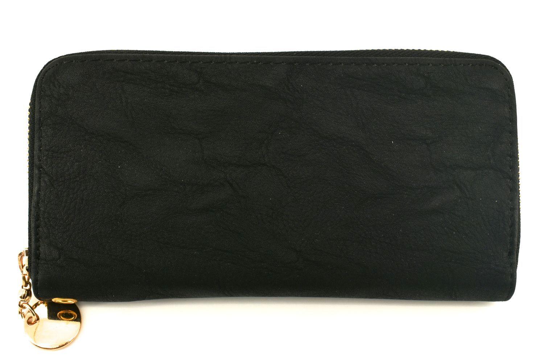 Dámská / dívčí peněženka pouzdrového typu - černá 25681