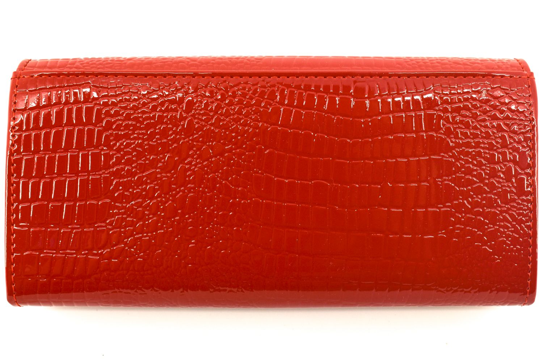 Dámská kožená lakovaná peněženka Klavier - černá 38324