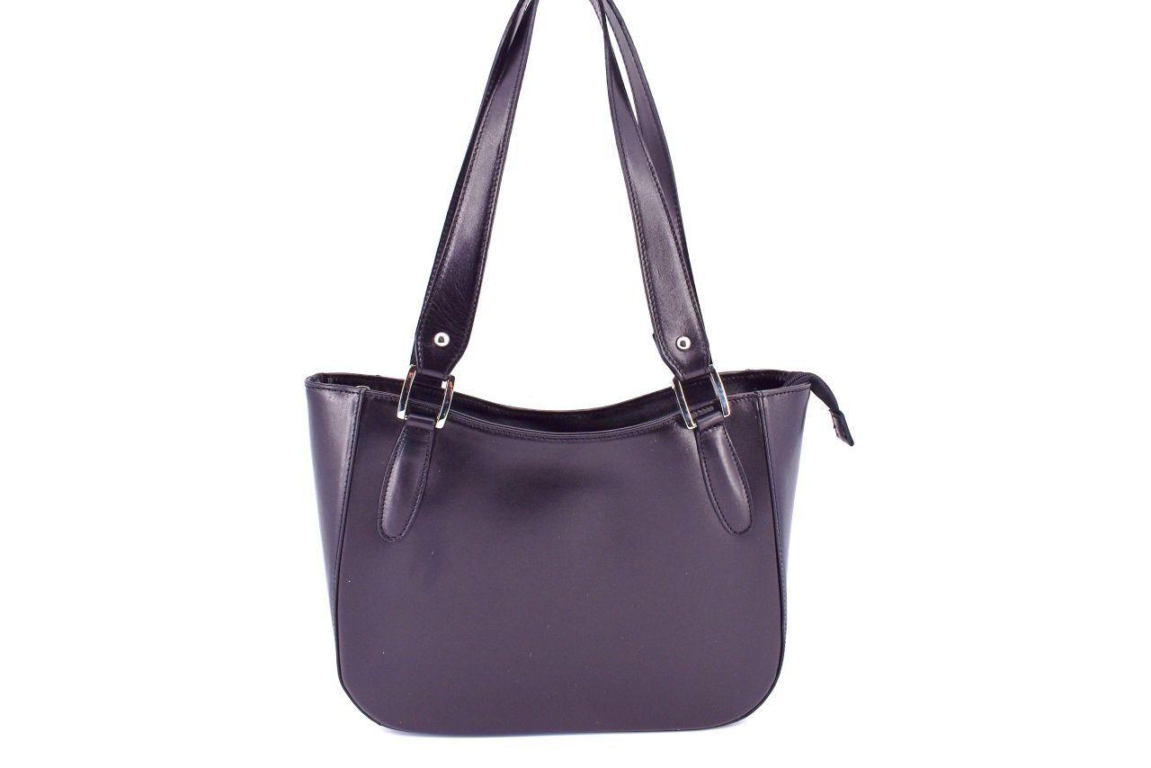 Dámská kožená kabelka Arteddy - černá 29582