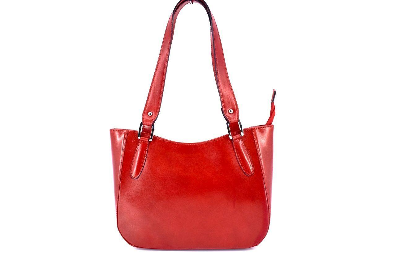 Dámská kožená kabelka Arteddy - červená 29582