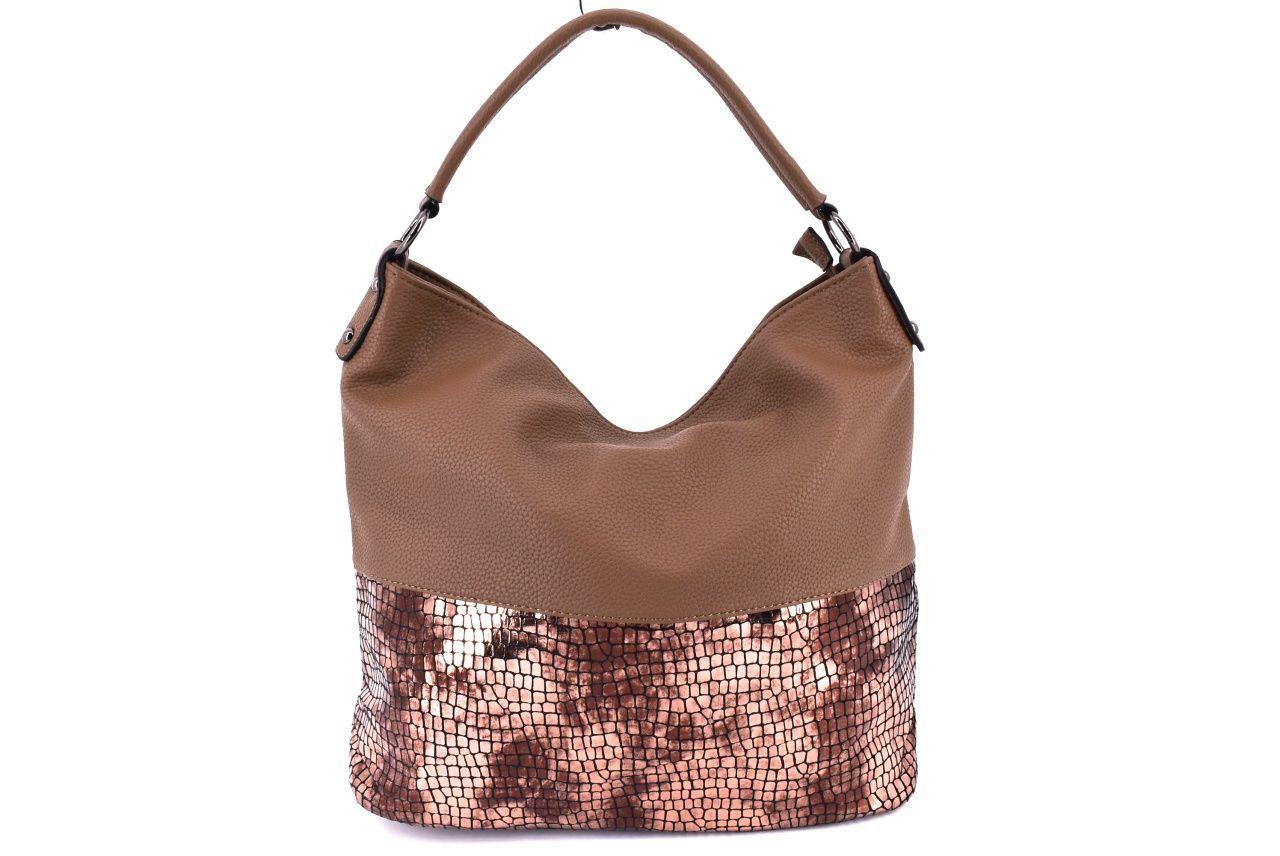 Dámská kabelka béžová 35085