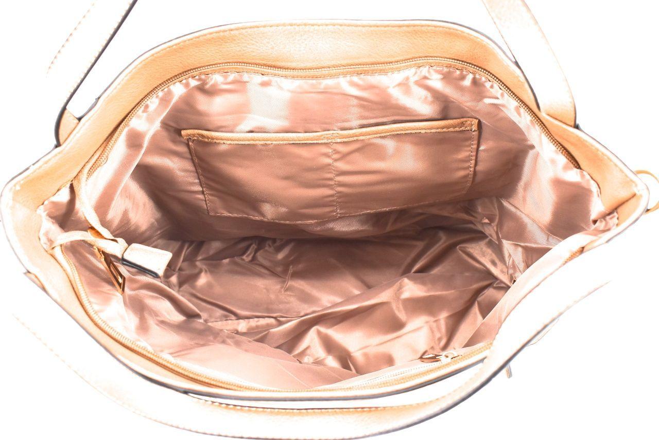 Dámská kabelka bronzová 35690