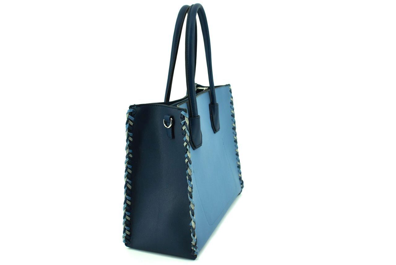 Dámská kabelka Valentina - modrá 36142