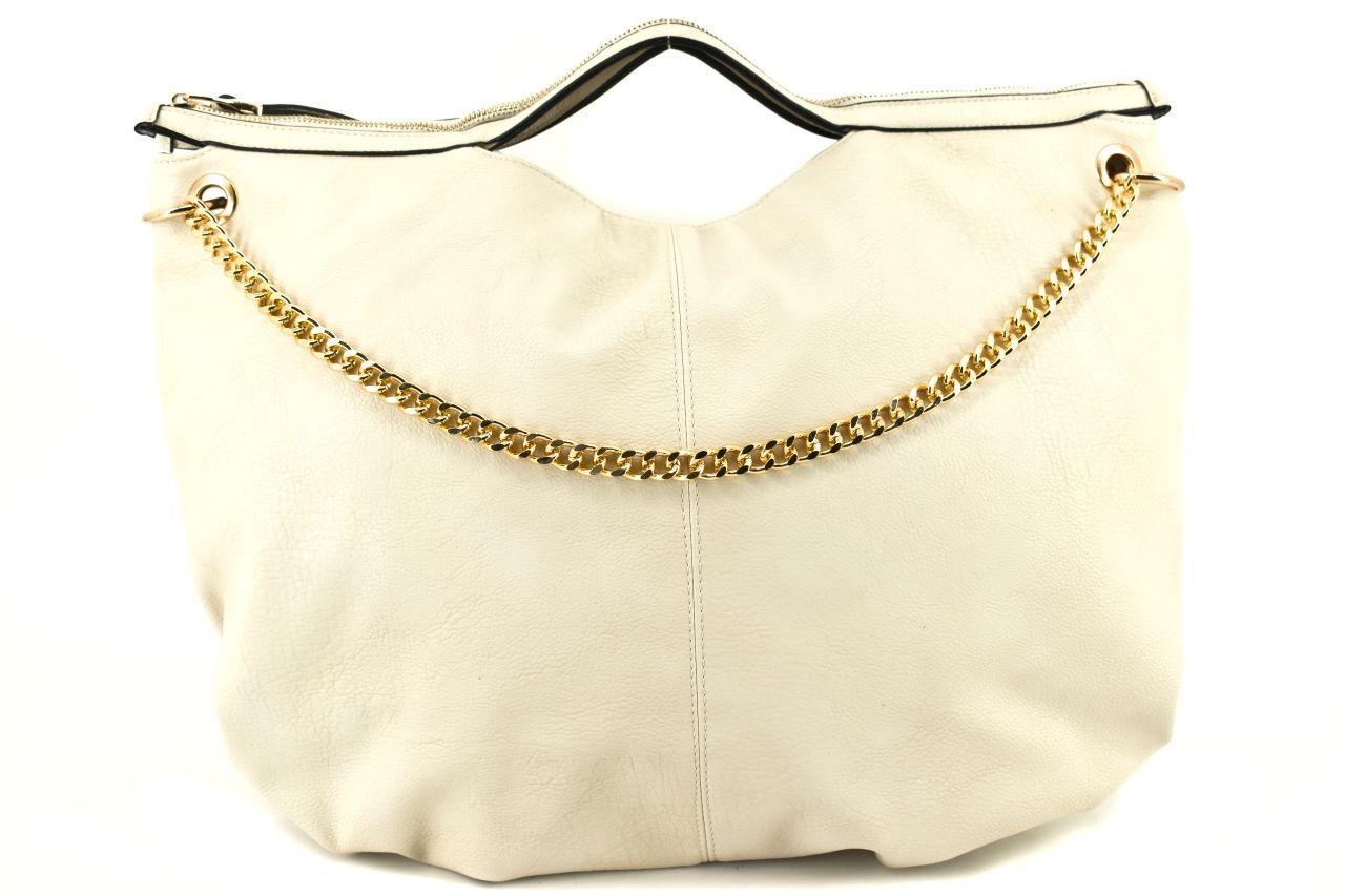 Dámská kabelka - krémová 29051