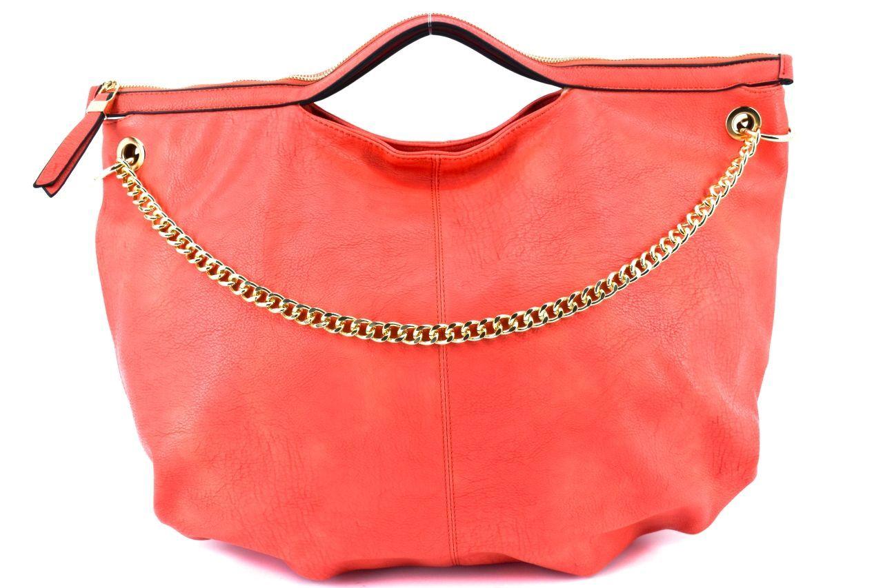 Dámská kabelka - červená 29051