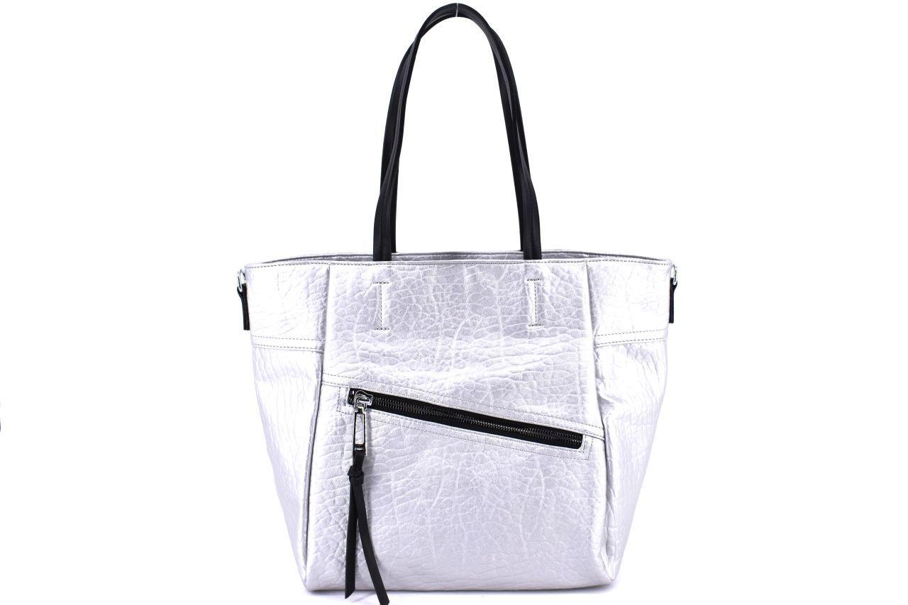 Dámská kabelka - stříbrná