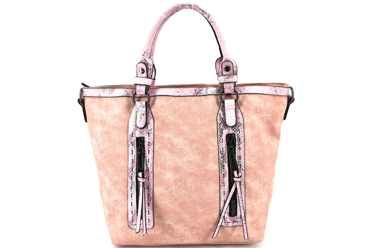 Dámská kabelka - růžová 34000