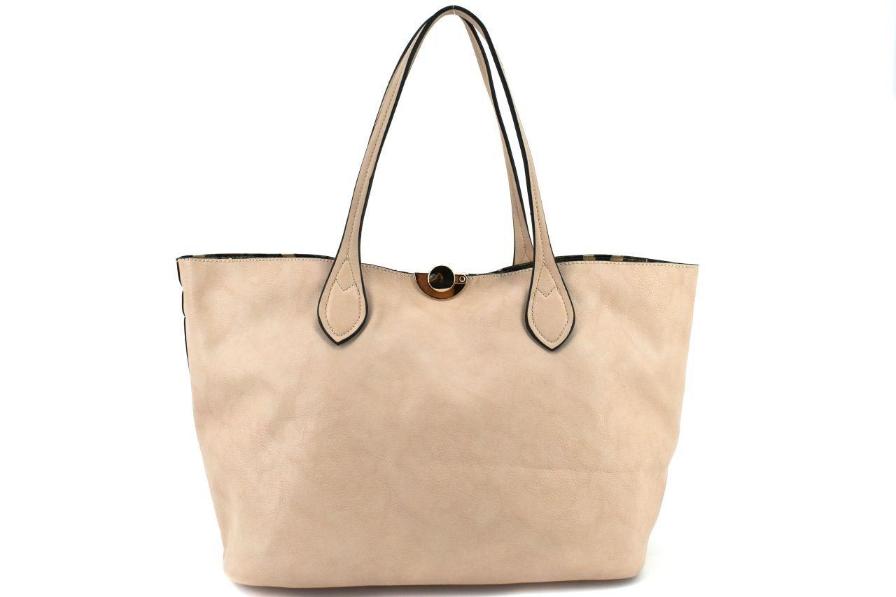Dámská kabelka - krémová 27116
