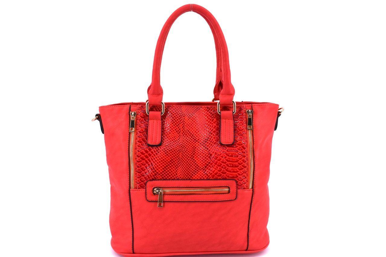 Dámská kabelka - červená 27070
