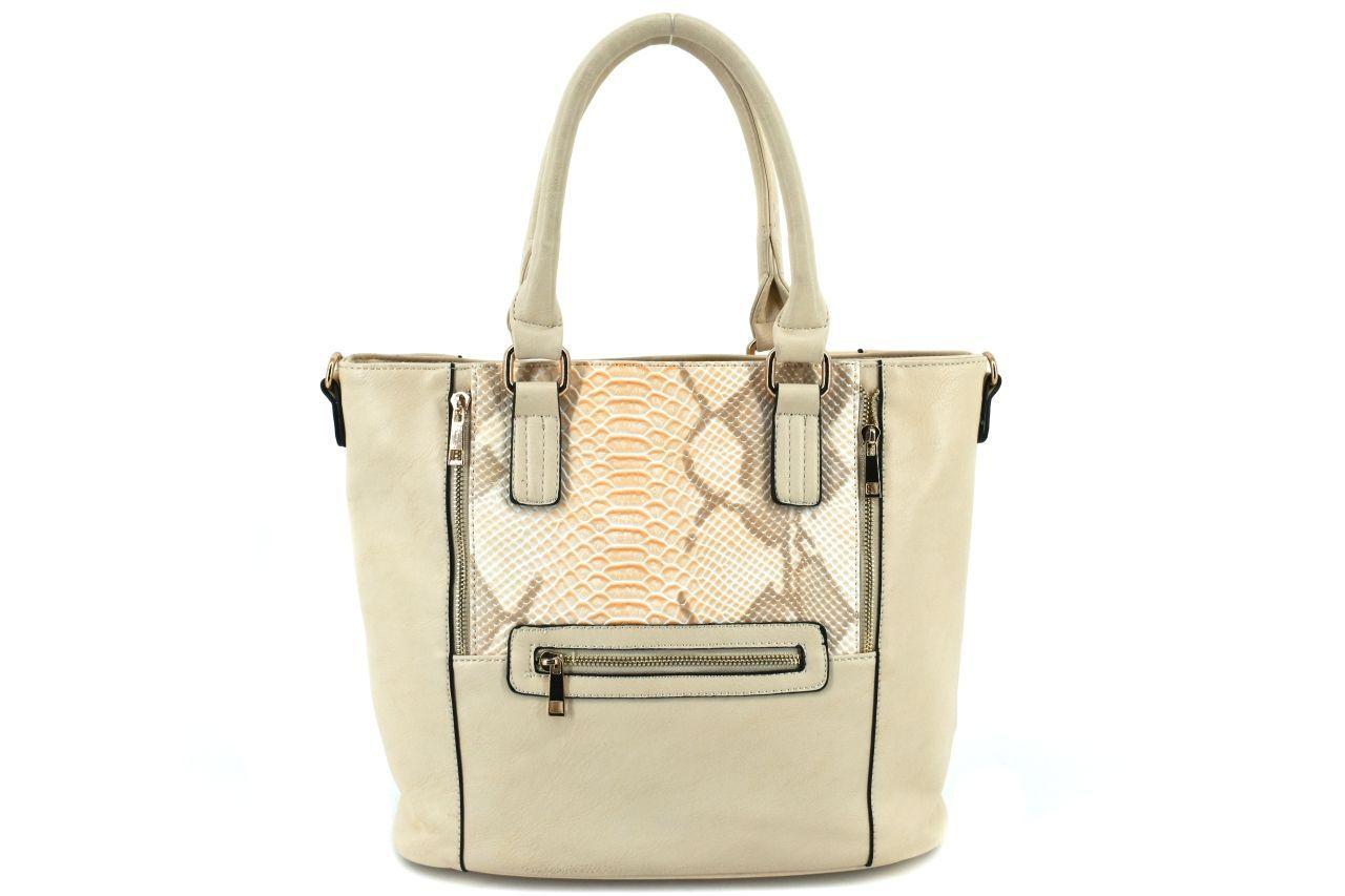 Dámská kabelka - krémová 27070